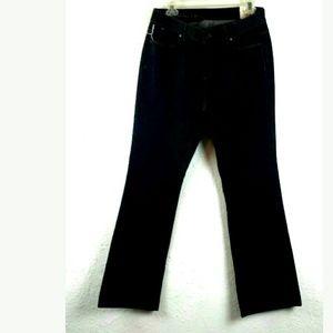 Talbots women's curvy fit boot leg jeans